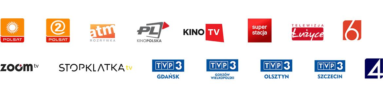Stacje telewizyjne na których można oglądać TV Okazje - plansza