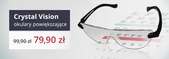 Crystal Vision okulary powiększające promocja