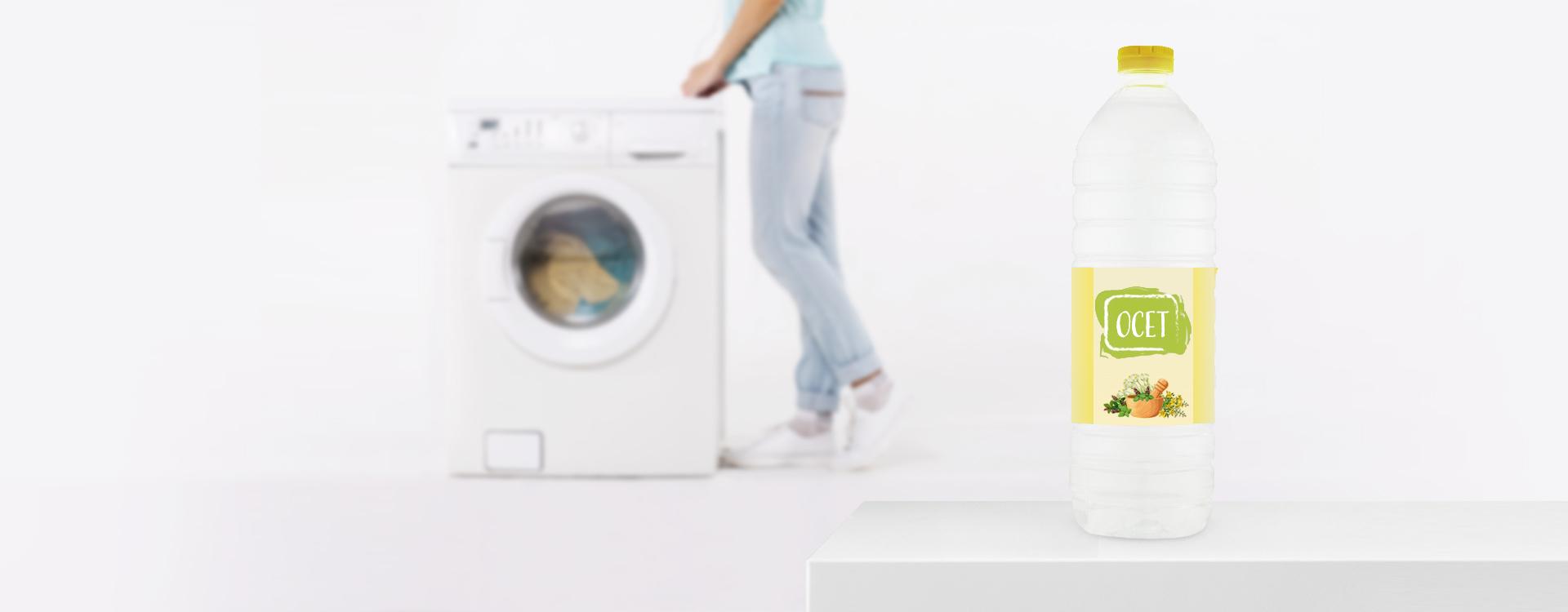 Czyszczenie pralki octem