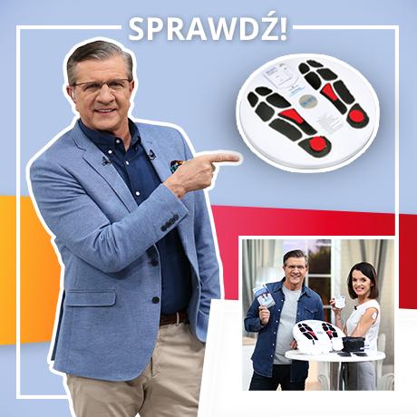 Zygmunt Chajzer poleca elektrostymulator mięśni TENS Circulation Promoter