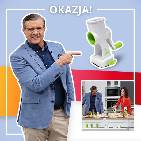 Tarka z korbką do warzyw Fast Slicer z TV Okazje EXTRA