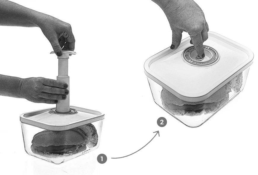 Szklane pojemniki próżniowe na żywność od TV Okazje