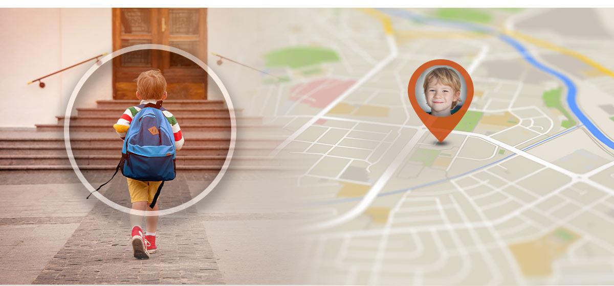 smartwatch dziecięcy tracking