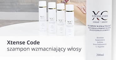 Szampon wzmacniający włosy Xtense Code