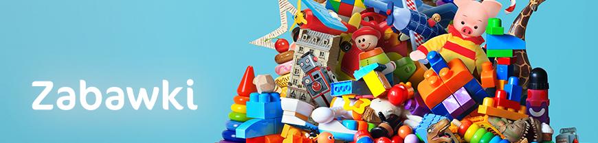 Dużo zabawek dla dzieci zebranych w jednym miejscu